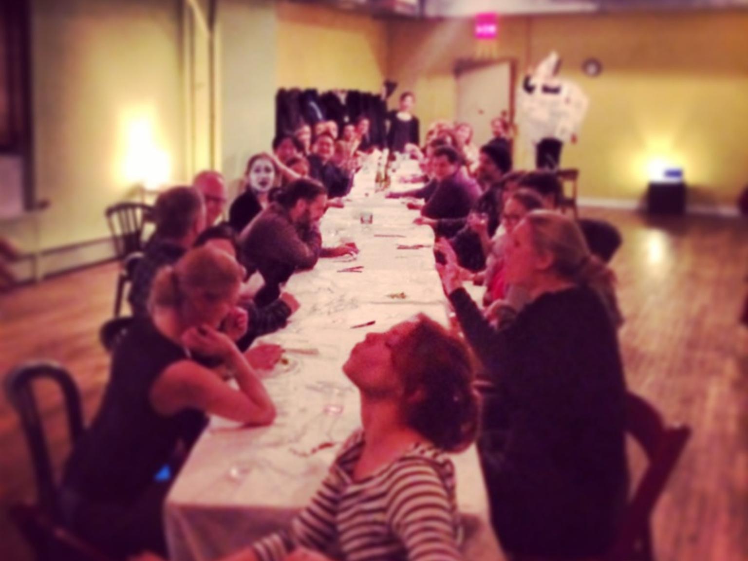 A Serious Banquet